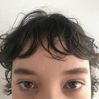 ボブ 簡単 前髪あり 束感 ヘアスタイルや髪型の写真・画像