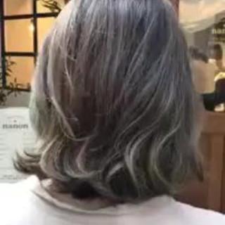 デート ハイライト 大人かわいい ナチュラル ヘアスタイルや髪型の写真・画像