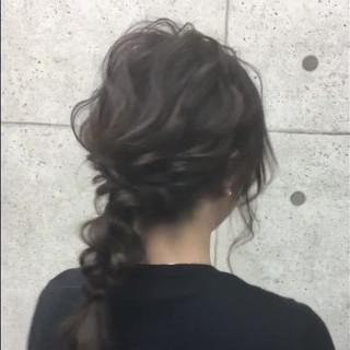 卒業式 二次会 成人式 フェミニン ヘアスタイルや髪型の写真・画像