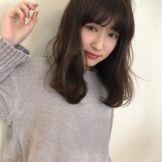 ゆるふわ アンニュイ 大人かわいい 色気 ヘアスタイルや髪型の写真・画像