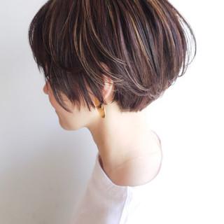 ショートボブ ミニボブ ショート 大人かわいい ヘアスタイルや髪型の写真・画像