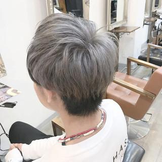 ストリート ショート モテ髪 無造作 ヘアスタイルや髪型の写真・画像