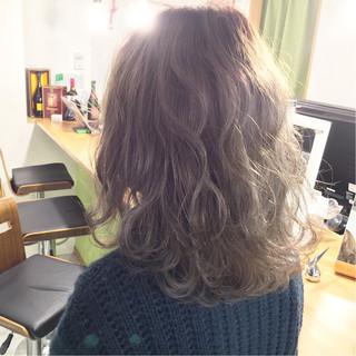 ストリート 大人かわいい ボブ グラデーションカラー ヘアスタイルや髪型の写真・画像
