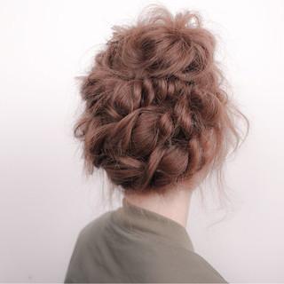 ミディアム ハイライト ショート ヘアアレンジ ヘアスタイルや髪型の写真・画像