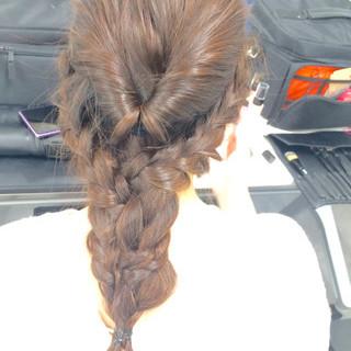 ロング イベント 大人かわいい ヘアアレンジ ヘアスタイルや髪型の写真・画像