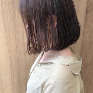 切りっぱなしボブ ミニボブ ショートボブ 外ハネボブ ヘアスタイルや髪型の写真・画像