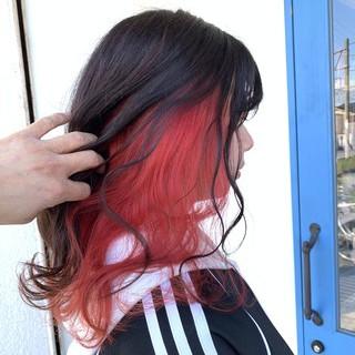 モテ髪 ナチュラル インナーカラー 可愛い ヘアスタイルや髪型の写真・画像