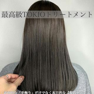 TOKIOトリートメント 艶髪 最新トリートメント ブリーチカラー ヘアスタイルや髪型の写真・画像