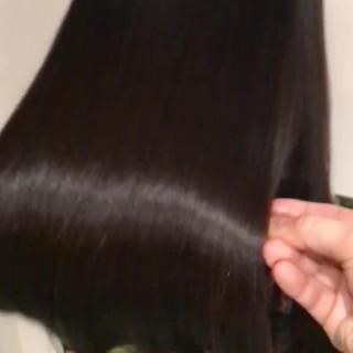 デート ヘアケア トリートメント ナチュラル ヘアスタイルや髪型の写真・画像