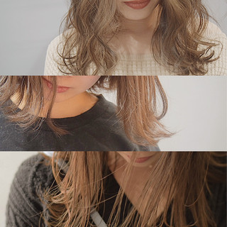 ナチュラル ミルクティーベージュ ボブ ナチュラルベージュ ヘアスタイルや髪型の写真・画像