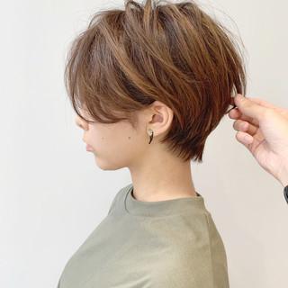 モード ショート デート スポーツ ヘアスタイルや髪型の写真・画像