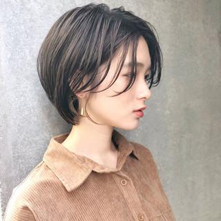 ショート 簡単ヘアアレンジ ナチュラル ヘアアレンジ ヘアスタイルや髪型の写真・画像 ヘアスタイルや髪型の写真・画像