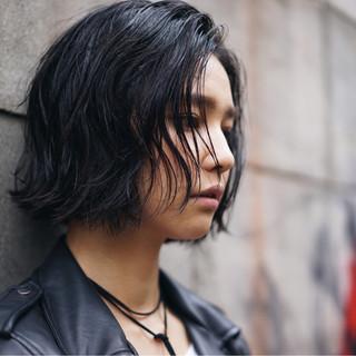 アッシュ ストリート 秋 外国人風カラー ヘアスタイルや髪型の写真・画像