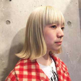 ハイトーン ブリーチ 外国人風 ストリート ヘアスタイルや髪型の写真・画像