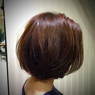 コンサバ アッシュ ボブ 色気 ヘアスタイルや髪型の写真・画像