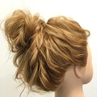 ロング ヘアアレンジ ショート メッシーバン ヘアスタイルや髪型の写真・画像 ヘアスタイルや髪型の写真・画像