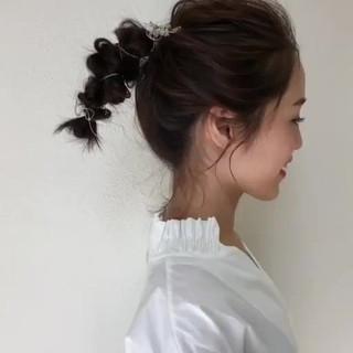 ナチュラル ヘアアレンジ 大人女子 抜け感 ヘアスタイルや髪型の写真・画像