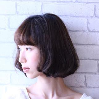 ゆるふわ 大人かわいい パーマ ボブ ヘアスタイルや髪型の写真・画像
