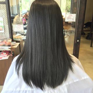 ミディアム 秋 暗髪 ブルージュ ヘアスタイルや髪型の写真・画像