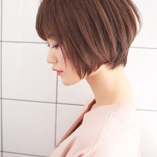ショート かわいい フェミニン 大人かわいい ヘアスタイルや髪型の写真・画像