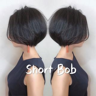 ショート ハンサムショート ショートヘア デート ヘアスタイルや髪型の写真・画像