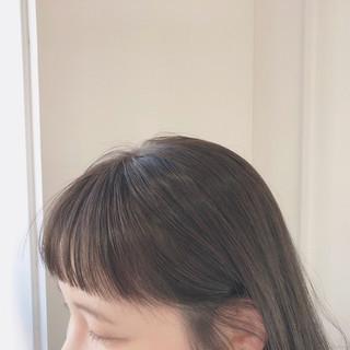 大人かわいい ミディアム 透け感ヘア 大人カジュアル ヘアスタイルや髪型の写真・画像