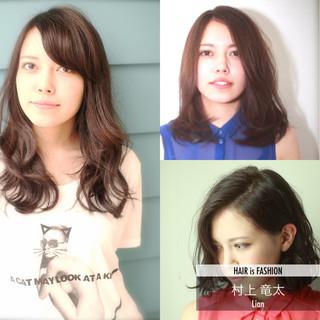 大人かわいい ナチュラル アッシュ 暗髪 ヘアスタイルや髪型の写真・画像 ヘアスタイルや髪型の写真・画像
