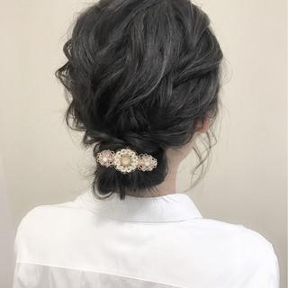 大人かわいい ヘアアレンジ 大人女子 シニヨン ヘアスタイルや髪型の写真・画像