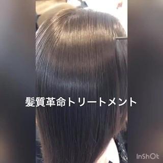 ロング エレガント 最新トリートメント 髪質改善トリートメント ヘアスタイルや髪型の写真・画像