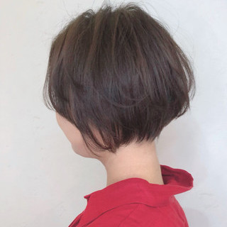ガーリー ショート ショートヘア 小顔ショート ヘアスタイルや髪型の写真・画像