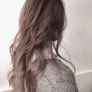 グラデーションカラー 外国人風カラー 透明感 ナチュラル ヘアスタイルや髪型の写真・画像