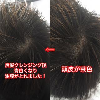ショート ストリート 頭皮ケア 頭皮改善 ヘアスタイルや髪型の写真・画像