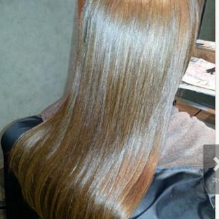 サラサラ ナチュラル かわいい セミロング ヘアスタイルや髪型の写真・画像