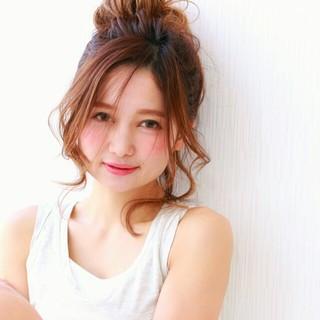 ピュア ショート ヘアアレンジ 簡単ヘアアレンジ ヘアスタイルや髪型の写真・画像