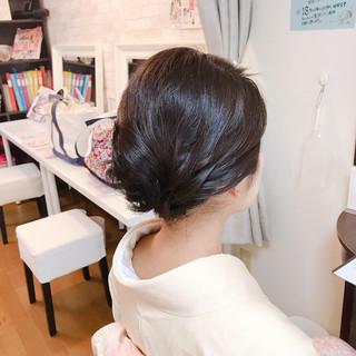 ヘアアレンジ 上品 結婚式 着物 ヘアスタイルや髪型の写真・画像 ヘアスタイルや髪型の写真・画像