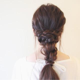 波ウェーブ ヘアアレンジ ショート ロング ヘアスタイルや髪型の写真・画像
