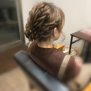 フェミニン アップスタイル ショート ヘアアレンジ ヘアスタイルや髪型の写真・画像 ヘアスタイルや髪型の写真・画像