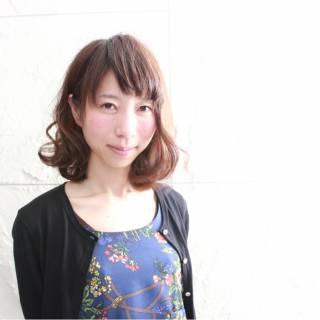 ガーリー モテ髪 ゆるふわ ナチュラル ヘアスタイルや髪型の写真・画像