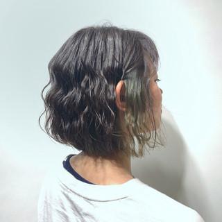透明感 ボブ ナチュラル 春ヘア ヘアスタイルや髪型の写真・画像 ヘアスタイルや髪型の写真・画像