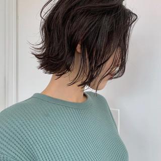 ミニボブ ボブ レイヤーボブ ショートヘア ヘアスタイルや髪型の写真・画像