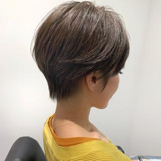 ショートボブ ベリーショート ショート ミニボブ ヘアスタイルや髪型の写真・画像