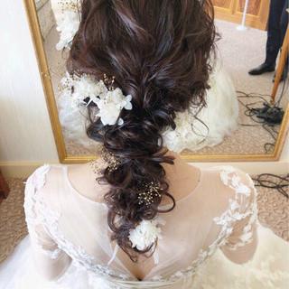 パーティ 大人女子 アンニュイ エレガント ヘアスタイルや髪型の写真・画像