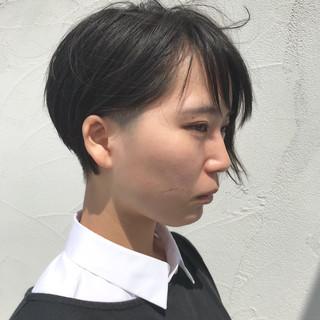 ショートボブ ショート 刈り上げ 刈り上げ女子 ヘアスタイルや髪型の写真・画像 ヘアスタイルや髪型の写真・画像