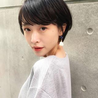 黒髪 フェミニン パーマ デート ヘアスタイルや髪型の写真・画像 ヘアスタイルや髪型の写真・画像