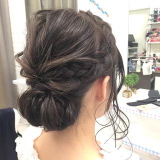 成人式 パーティ ボブ ヘアアレンジ ヘアスタイルや髪型の写真・画像 ヘアスタイルや髪型の写真・画像