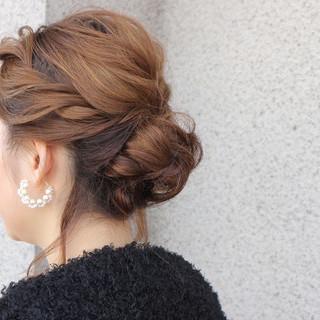 大人女子 前髪あり まとめ髪 ヘアアレンジ ヘアスタイルや髪型の写真・画像 ヘアスタイルや髪型の写真・画像