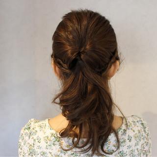 ミディアム ショート 大人かわいい ヘアアレンジ ヘアスタイルや髪型の写真・画像