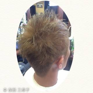 ストリート ブリーチ ダブルカラー 外国人風カラー ヘアスタイルや髪型の写真・画像 ヘアスタイルや髪型の写真・画像
