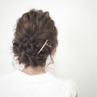 大人女子 ロープ編み 大人かわいい ロング ヘアスタイルや髪型の写真・画像