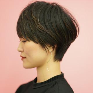 ショートヘア 30代 ベリーショート ショートボブ ヘアスタイルや髪型の写真・画像